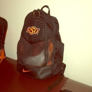 Oklahoma State University (OSU) athlete back pack